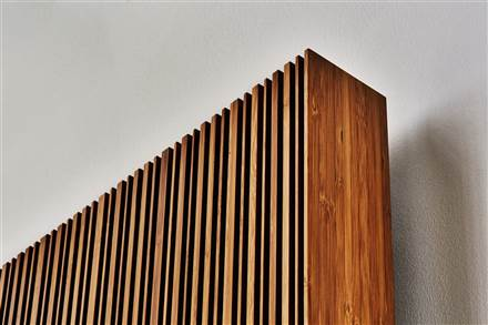 Eskimo Outline Bamboo Electric Radiator