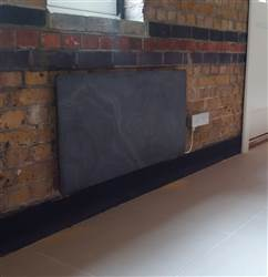 Towelrads Vetro Frame Stone Electric Radiator