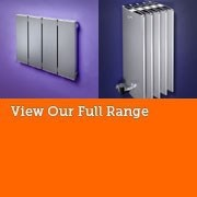 Bisque Horizontal Aluminium Radiators