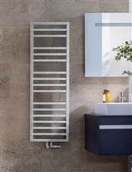 Zehnder Quaro Spa Stainless Steel Designer Heated Towel Rail