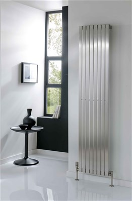 The Radiator Company Ceres Vertical Stainless Steel Radiator