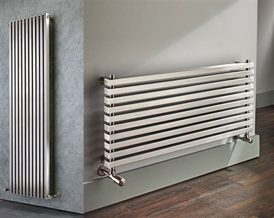 The Radiator Company Omega Stainless Steel Radiators