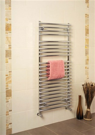 Apollo Pavia Tube on Tube Heated Towel Rail