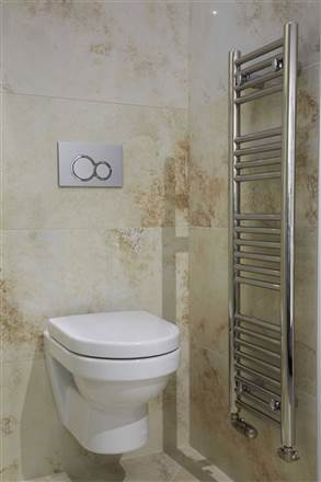 Abacus Linea Micro Stainless Steel Heated Towel Rail