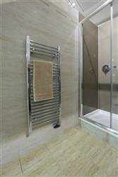 Abacus Linea Stainless Steel Electric Heated Towel Rail