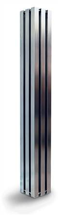 Aeon Alien Stainless Steel Designer Radiators (Previously called Octet)
