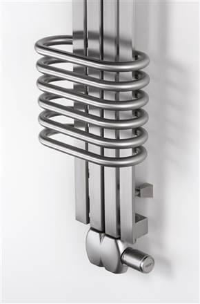 Aeon Bolero Stainless Steel Designer Heated Towel Rail