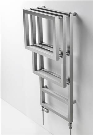 Aeon Bosporus Stainless Steel Designer Heated Towel Rail