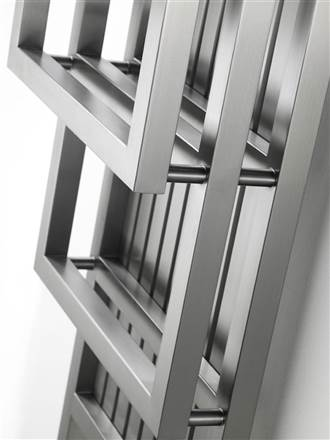 Aeon Bosporus Z Stainless Steel Designer Heated Towel Rail