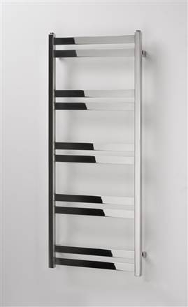 Aeon Cat Ladder Stainless Steel Heated Towel Rail