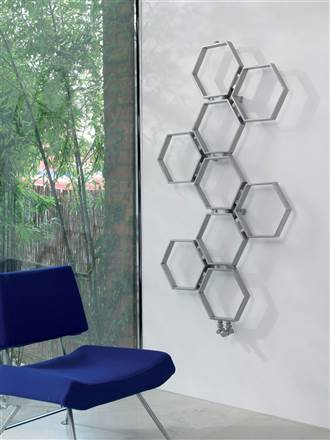 Aeon Honeycomb Stainless Steel Designer Radiator