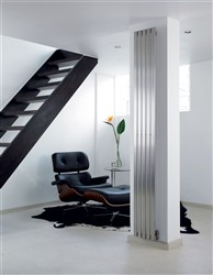 Aeon Lunar (formerly the Zephyr) Designer Radiator Polished Stainless Steel
