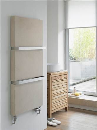 Aeon Marbella Designer Heated Towel Rail