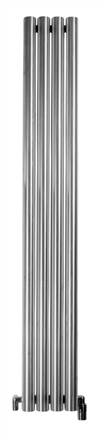 Aeon Mystic E Designer Radiator Brushed Stainless Steel
