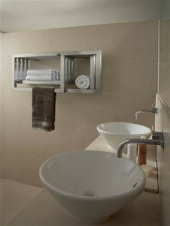 Aeon S-Type Stainless Steel Designer Towel Rail