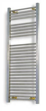 Aeon Serhad Stainless Steel Heated Towel Rail