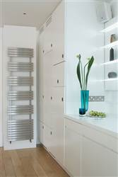 Aeon Siesta Stainless Steel Heated Towel Rail