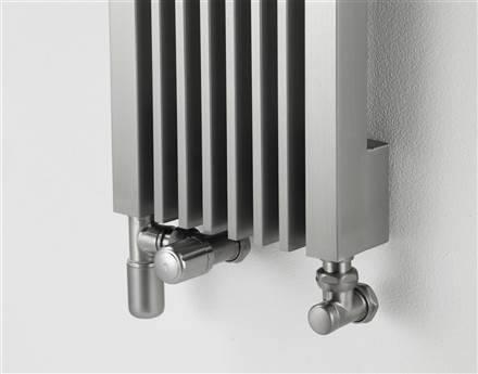 Aeon Stria Designer Radiator Polished Stainless Steel