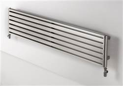 Aeon Supra Double Designer Radiator Polished Stainless Steel