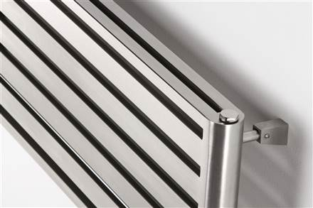 Aeon Supra Triple Designer Radiator Brushed Stainless Steel