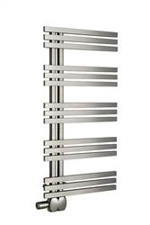 Aeon Tempest Stainless Steel Designer Heated Towel Rail
