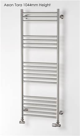 Aeon Tora Stainless Steel Towel Rail