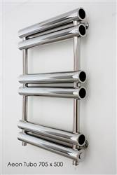 Aeon Tubo Stainless Steel Designer Heated Towel Rail