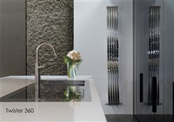 Aeon Twister Stainless Steel Designer Radiator