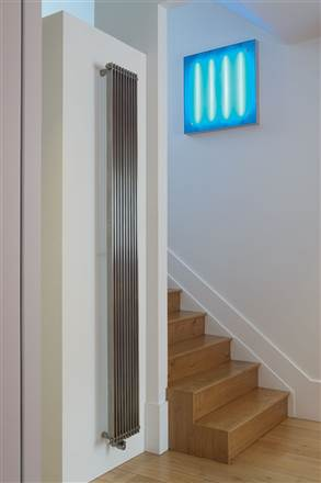 Aeon Venetian Stainless Steel Designer Radiators - Brushed Finish