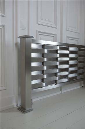 Aeon Wave Stainless Steel Horizontal Designer Radiator