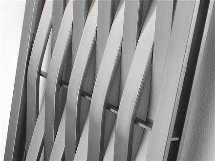 Aeon Wave Stainless Steel Vertical Designer Radiator