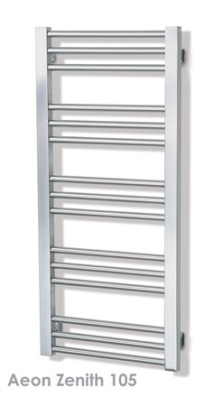 Aeon Zenith Stainless Steel Towel Rail Radiator
