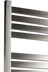 DQ Double Quick Alisi Stainless Steel Electric Towel Rail