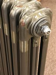 Warmrooms Lacquered Bare Metal Column Radiators