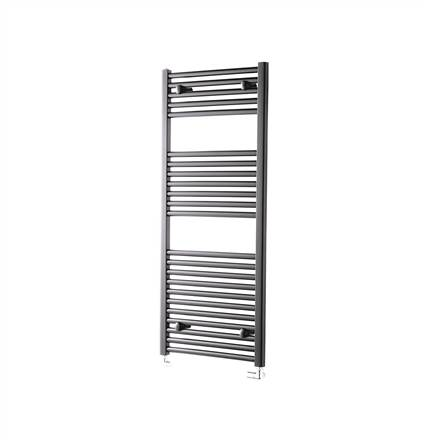 Towelrads Pisa Anthracite Straight Towel Rail