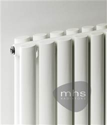 MHS Arc White Vertical Designer Radiator