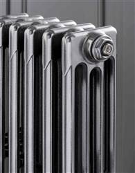 The Radiator Company Aston 3 Column Cast Iron Radiator - 760mm Height - Polished Finish