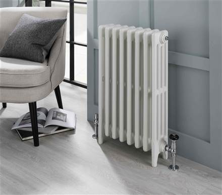The Radiator Company Aston 3 Column Cast Iron Radiator - 560mm Height - Colour Finish