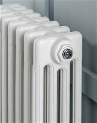 The Radiator Company Aston 3 Column Cast Iron Radiator - 660mm Height - Colour Finish