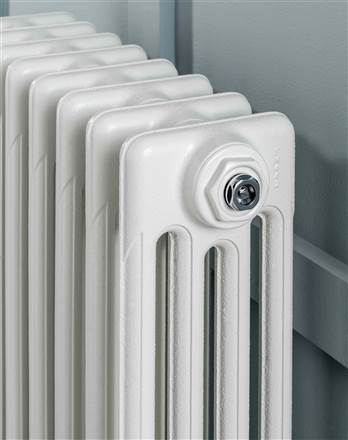 The Radiator Company Aston 6 Column Cast Iron Radiator - 360mm Height - Colour Finish