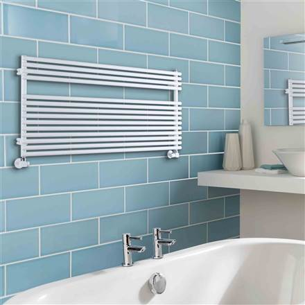 The Radiator Company BDO Sitar Straight Heated Towel Rail