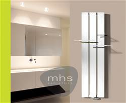MHS Beams Aluminium Vertical Radiator
