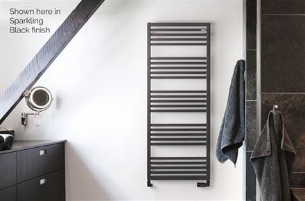 MHS Bianca Flat Fronted Towel Rail