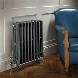 The Radiator Company Bianco 6 Column Cast Iron Radiator