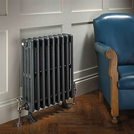 The Radiator Company Bianco 4 Column Cast Iron Radiator