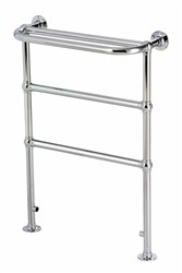 DQ Double Quick Billingford Traditional Floor Mounted Towel Rail