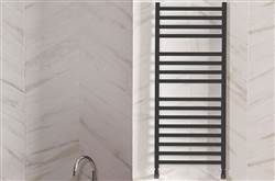 Bisque Optic Square Tubed Towel Rail