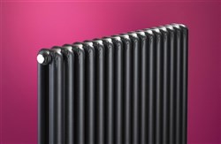 Bisque Tetro Designer Radiator 1484mm and 1784mm High