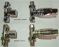 Bisque Type K Thermostatic Radiator Valves