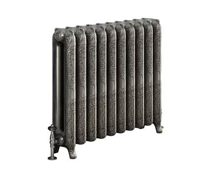 DQ Double Quick Bronte Cast Iron Radiator - 760mm High